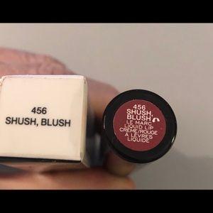 Marc Jacobs shush, blush liquid lip cream